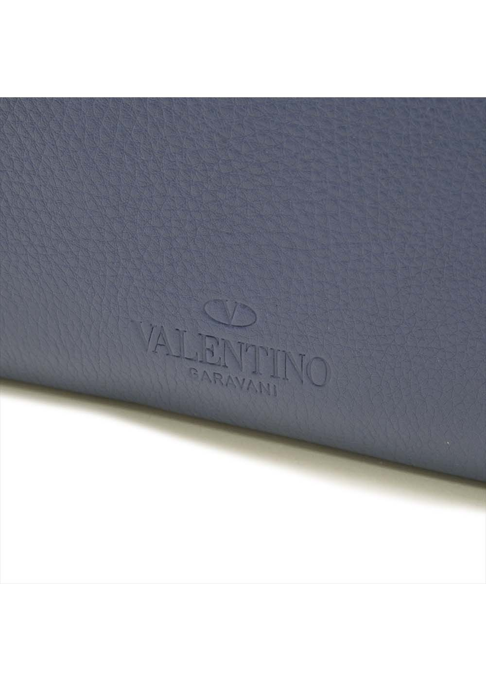 【最大32%OFF】【MENS】DOCUMENT CASE|NAVY|メンズ雑貨|VALENTINO_(TI)