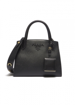 MONOCHROME SAFFIANO BAG SMALL