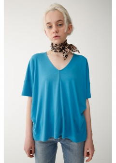 DEEP V HALF SLEEVE TOP