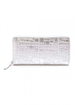【最大69%OFF】EMBOSSED LOGOTYPE WALLET|SILVER|レディース財布|COMME des GARCONS_(TI)