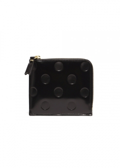 POLKA DOTS EMBOSSED WALLET