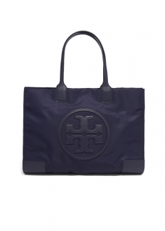Tory Burch - トートバッグ / ELLA TOTE 【TORY NAVY】