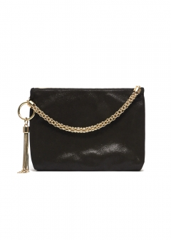 JIMMY CHOO - 2WAYクラッチバッグ/CALLIE【BLACK】