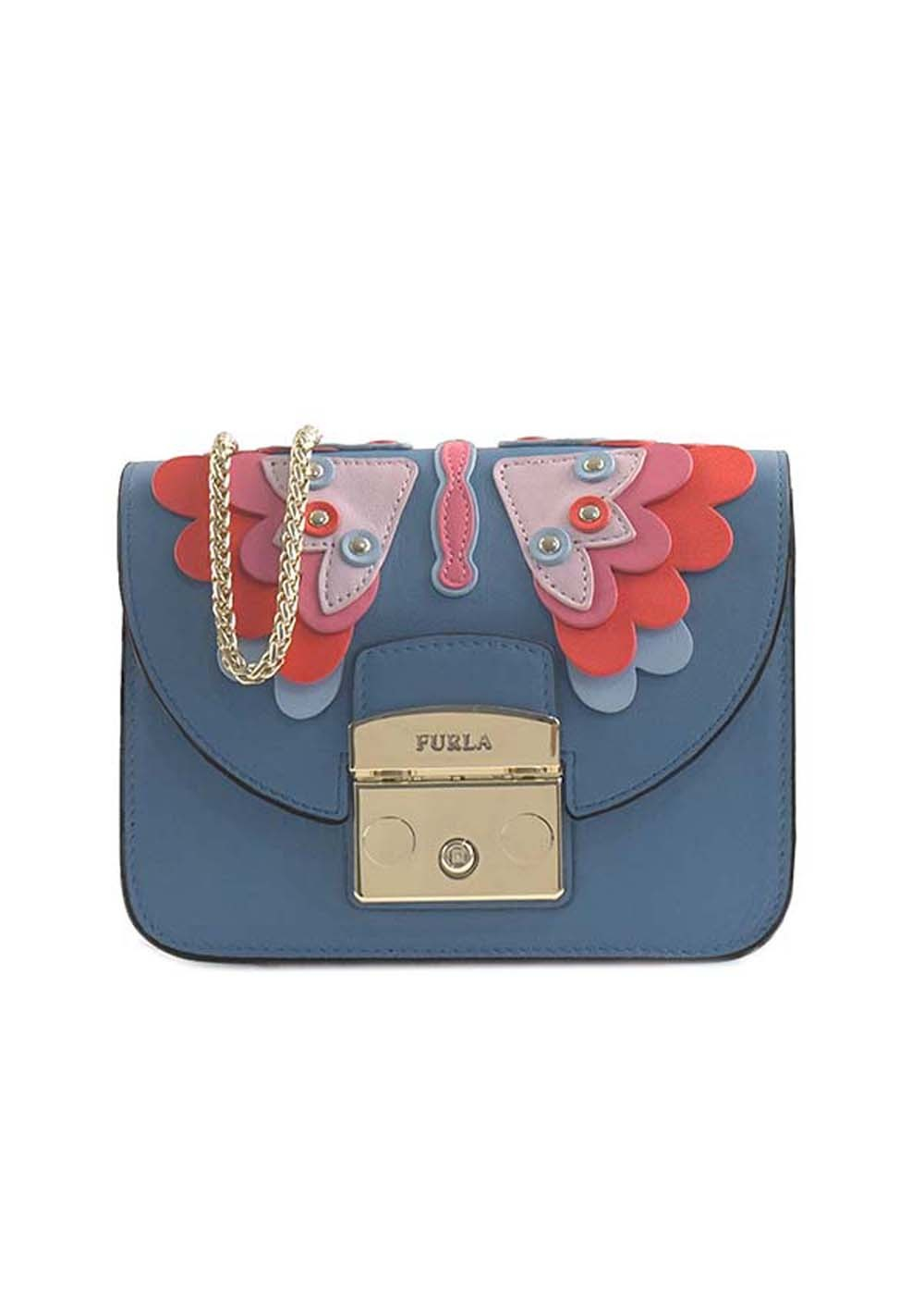 【最大50%OFF】【'18年秋冬新作】METROPOLIS PAPILLON MINI CROSS|GENZIANA e|ショルダーバッグ|FURLA_(C)
