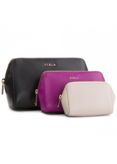 FURLA - wallet and more - ELECTRA エレクトラ ポーチ 3個セット