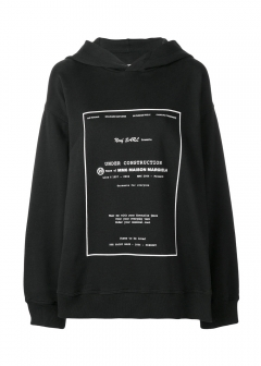 Maison Margiela / MM6 Maison Margiela - 【MM6 MAISON MARGIELA】COTTON HOODIE WITH PRINT(海外買付のため約3~4週間後のお届けです)