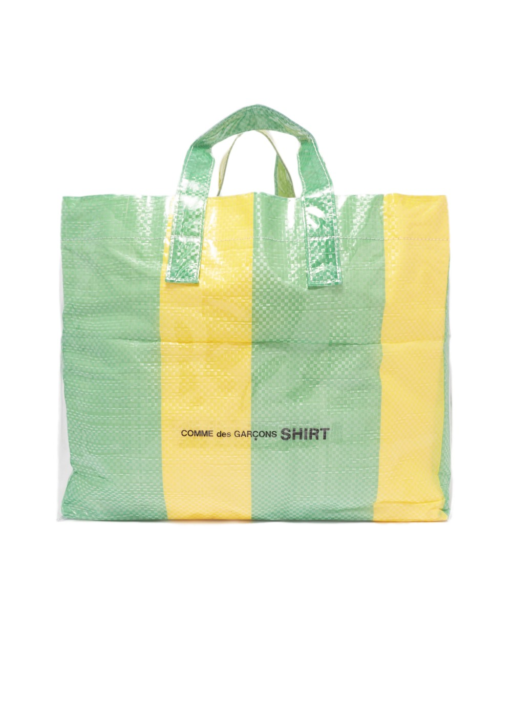 【最大69%OFF】SHIRT PVC BAG|PRINT-B|ハンドバッグ|COMME des GARCONS_(TI)