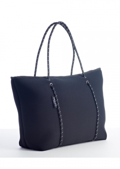 BOUTIQUE COLLECTION ZIP TOTES Black
