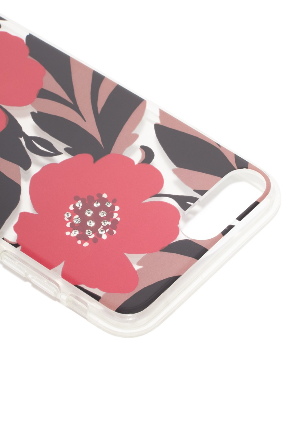 kate spade NEW YORK|ケイトスペードニューヨーク|IPHONE CASES|アイフォンケース|iPhone8PLUS CASE JEWELED POPPY FIELD