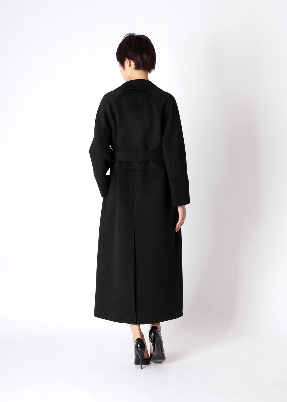 【最大50%OFF】ARONALU-COAT【S Max Mara】|NERO|その他コート|Max Mara