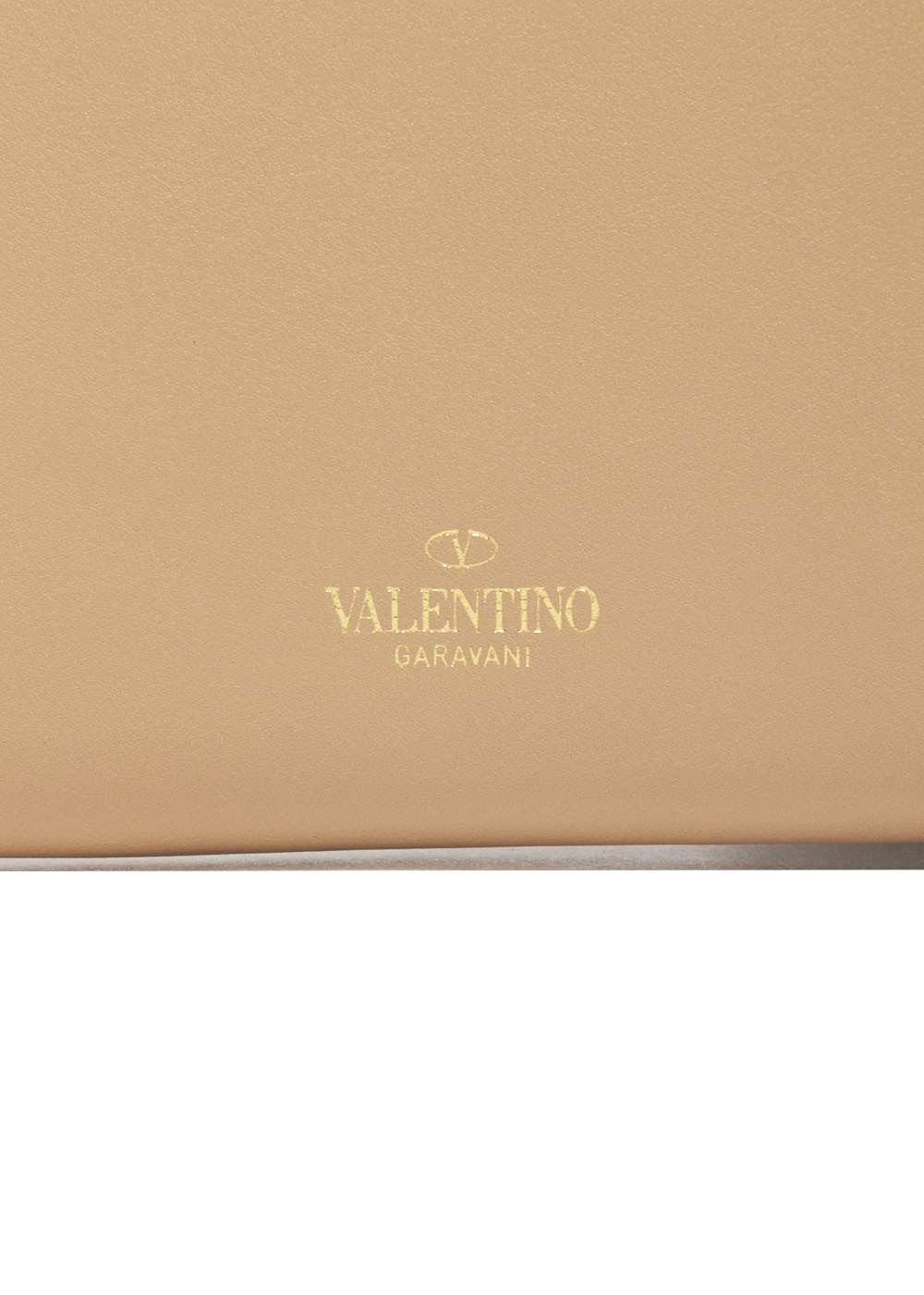 【最大32%OFF】ROCKSTUD WALLET|CAMEL ROSE|レディース財布|VALENTINO_(TI)