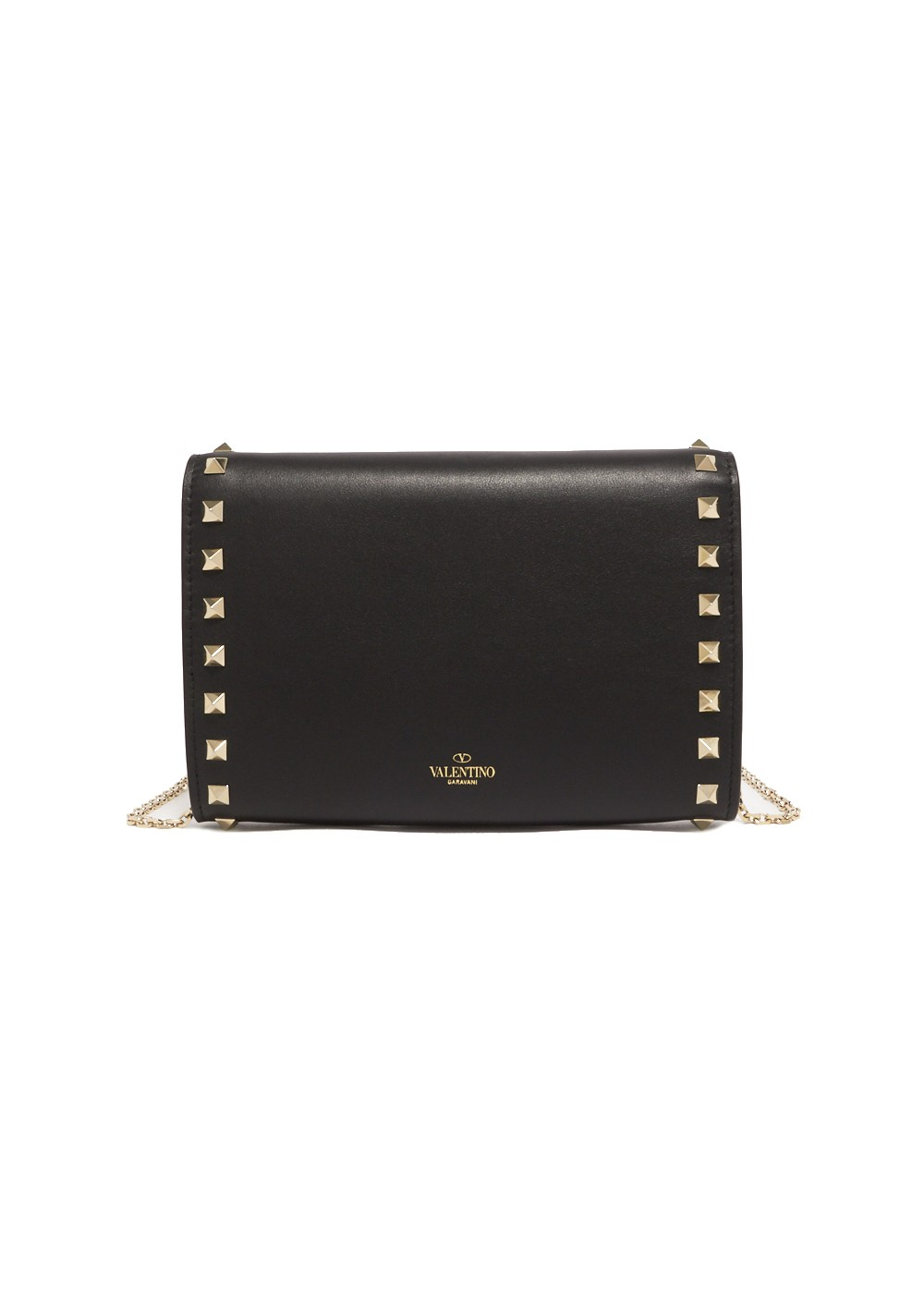 【最大32%OFF】ROCKSTUD ZIP AROUND WALLET|NERO|レディース財布|VALENTINO_(TI)