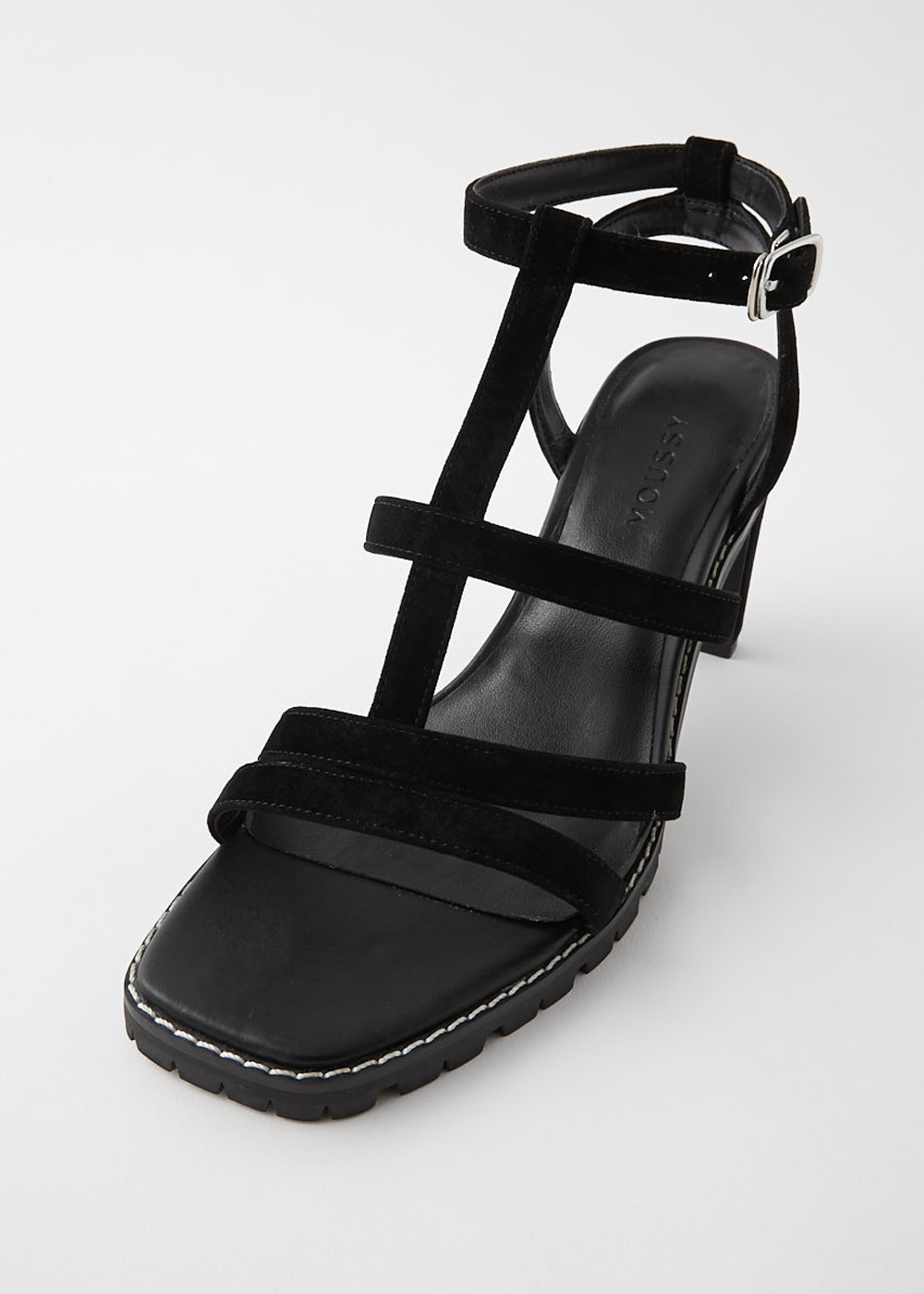 【最大70%OFF】CROSS UPPER SANDALS|BLK|サンダル|MOUSSY