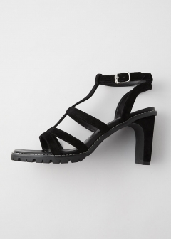CROSS UPPER SANDALS