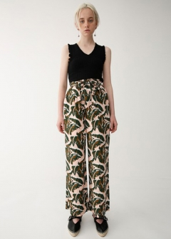 LEAF PATTERN PANTS