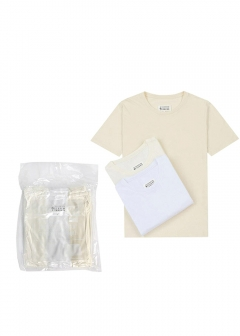 Maison Margiela / MM6 Maison Margiela - 【Mens】半袖 パックT Pack of 3 'Stereotype' T-shirts【S50GC0523-S22431】