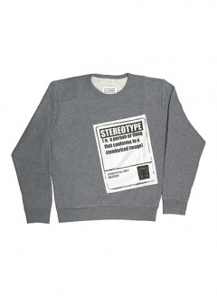 STREET STYLE - Import brand selection - - 【Maison Margiela】【Mens】スウェット トレーナー STEREOTYPE SWEATSHIRT【S50GU0064-S25279】