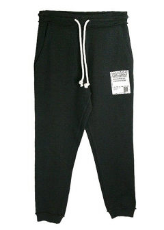 【Maison Margiela】【Mens】DRAWSTRING 'STEREOTYPE' SWEATPANTS【KA0419-S25368】