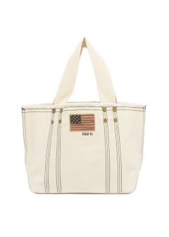 RALPH LAUREN - SM FLAG TOTE SMALL
