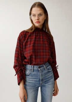 DRAW STRING SLEEVE TOP