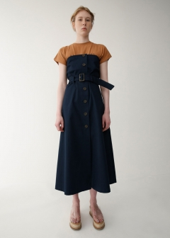 WAIST BELT BARE DRESS