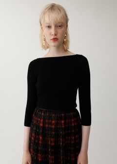 2WAY BUTTON UP KNIT