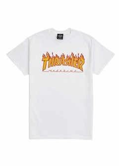 STREET STYLE - Import brand selection - - THRASHER Tシャツスラッシャー FLAME LOGO メンズ FIRE(全2色)【110102】【THRASHER】