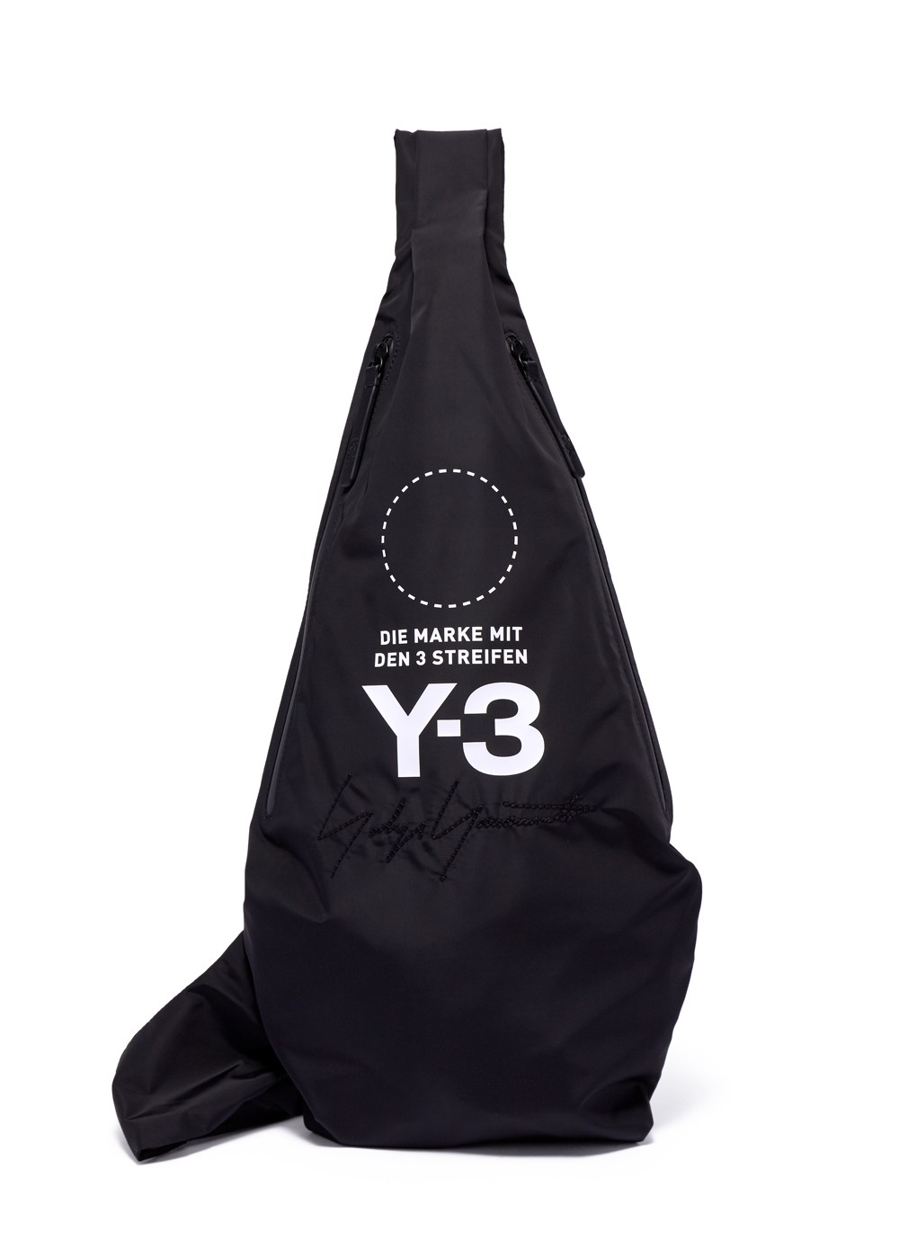 【最大27%OFF】YOHJI MESSENGER BAG|BLACK|クラッチバッグ|adidas Y-3