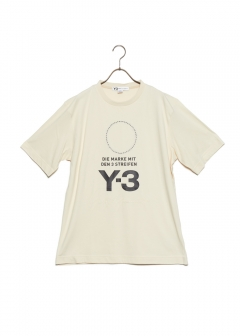 adidas Y-3 - 【MENS】STACKED LOGO TEE