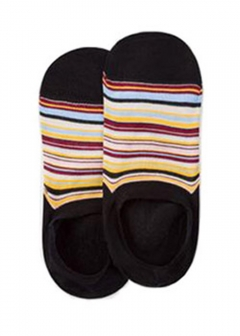 Paul Smith - men's collection - - 靴下 ポールスミス ソックス メンズ Men's Multi-Color Stripe Loafer Socks