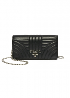 PRADA - wallet and more - LOGO WALLET ON CHAIN