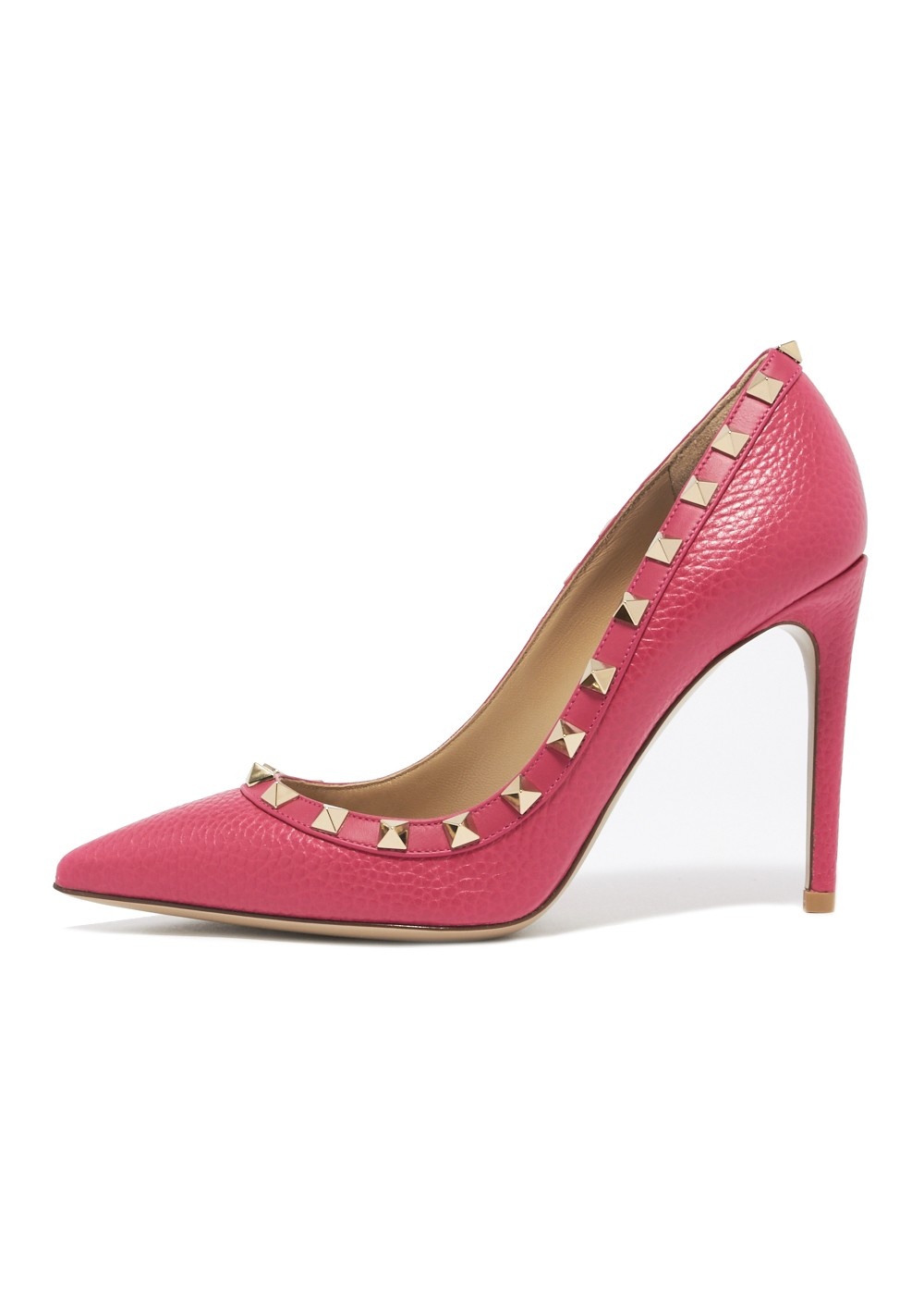 【最大32%OFF】ROCKSTUD PUMP T.100|DISCO PINK|パンプス|VALENTINO_(TI)