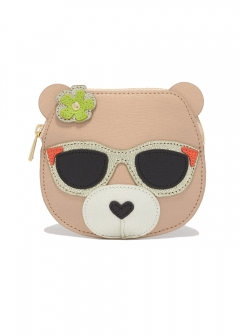 FURLA - wallet and more - ALLEGRA S COIN CASE BEAR