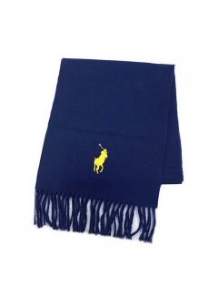 BIG PONY EMBROIDERED SCARFマフラー
