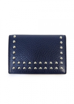 VISIT CARD HOLDER WITH STUDS カードケース