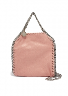 2WAY ハンドバッグ / TINY BELLA SHAGGY DEER FALABELLA 【BLUSH】