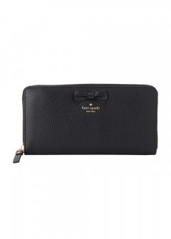 kate spade new york - wallet and more - 長財布 ラウンドファスナー Meadows Lane pwru5607 アウトレット レディース