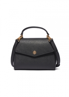 Tory Burch - ROBINSON SMALL TOP-HANDLE SATCHEL