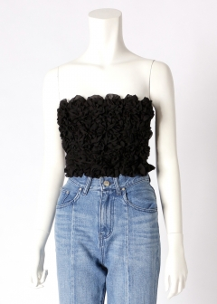 solid flower bare top