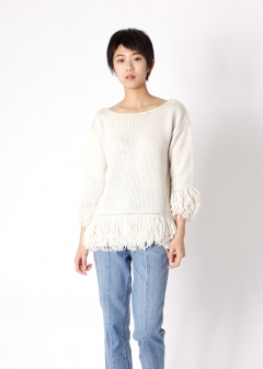 loop fringe top