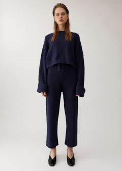 LOOSE KNIT PANTS