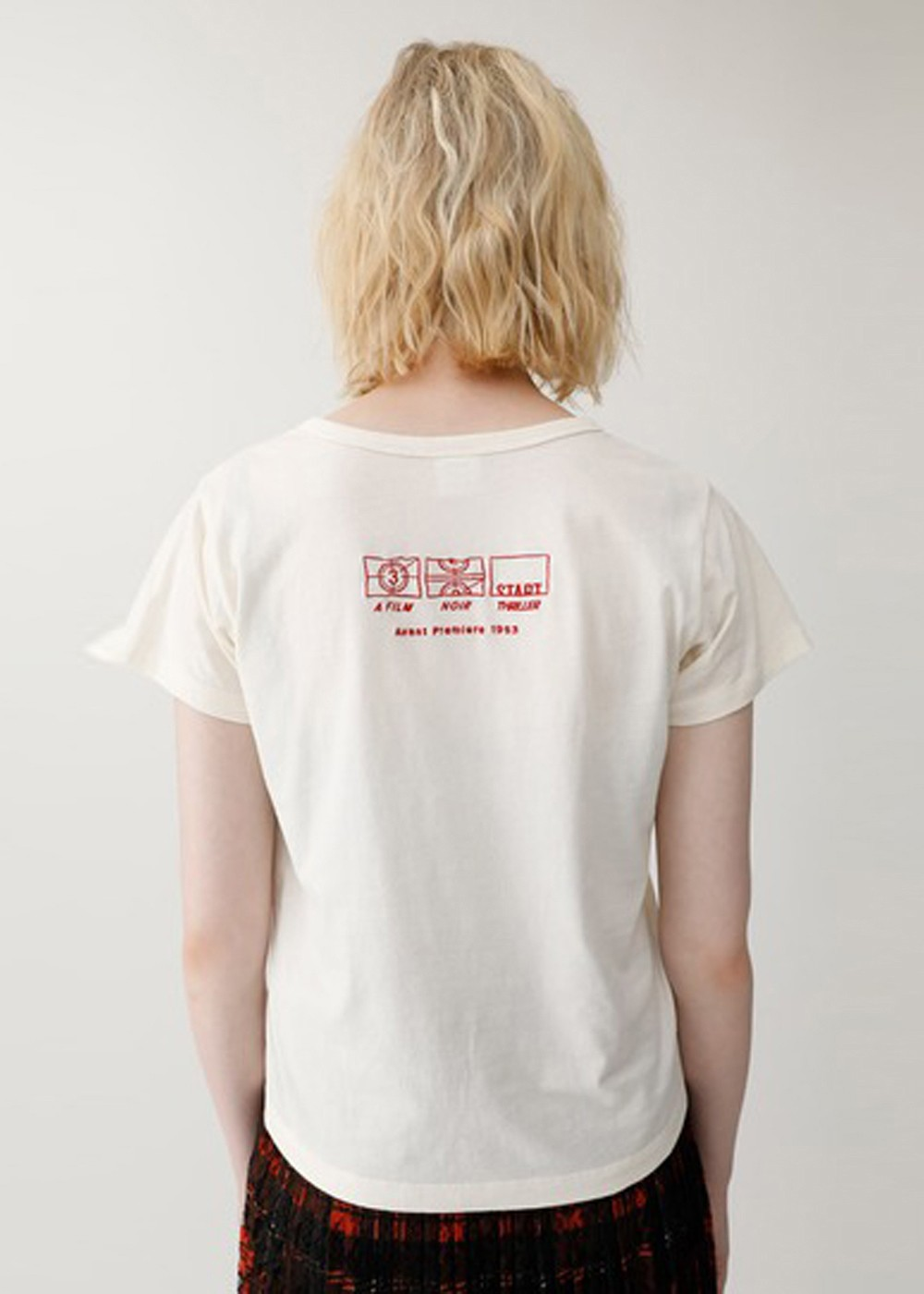 【最大60%OFF】ROSE EMBROIDERY TSJ|O/WHT|Tシャツ|MOUSSY