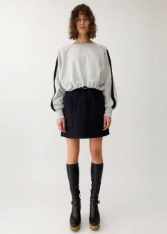 PATCH POCKET MINI SKIRT