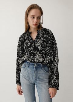 RANDOM FLOWER BLOUSE