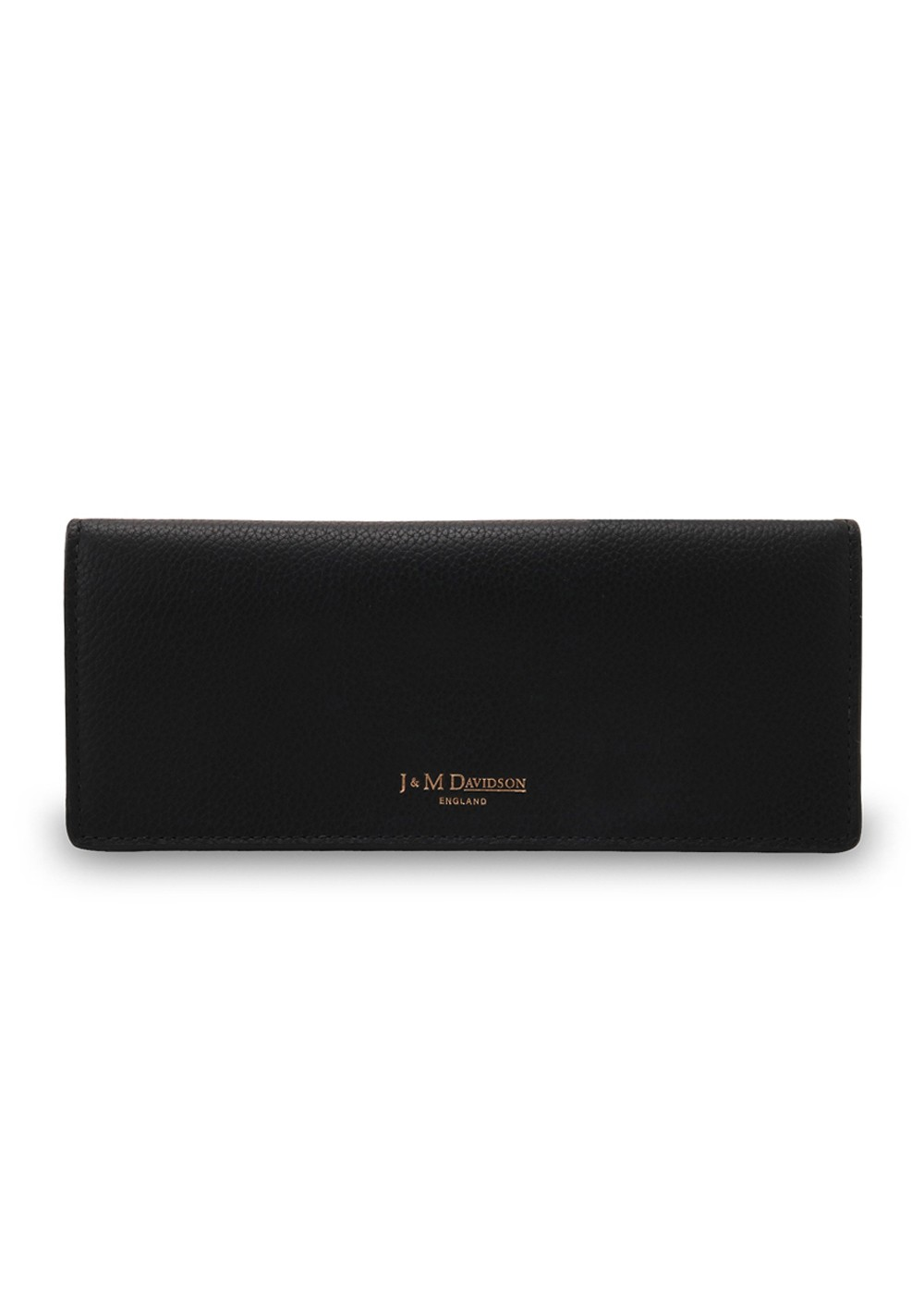 【最大57%OFF】PLAIN FLAP WALLET|Black |レディース財布|J&M DAVIDSON(E)