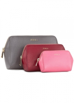 FURLA - wallet and more - 【11/24入荷】ELECTRA L COSMETIC CASE SET 3色ポーチ