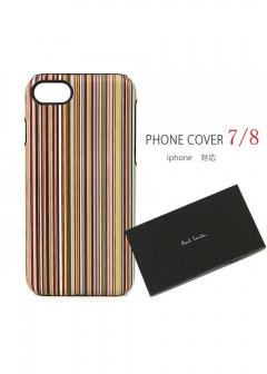 Paul Smith - men's collection - - 【11/27入荷】PAUL SMITH i phone ケース 7 / 8 カバー ポールスミス iphone 7 / iphone 8