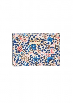 【最大48%OFF】CAMERON STREET VINE CARDHOLDER|CREAM MULTI|カードケース|kate spade new york - wallet and more