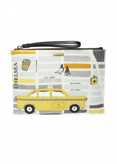 NOUVEAU YORK TAXI MEDIUM BELLA POUCH