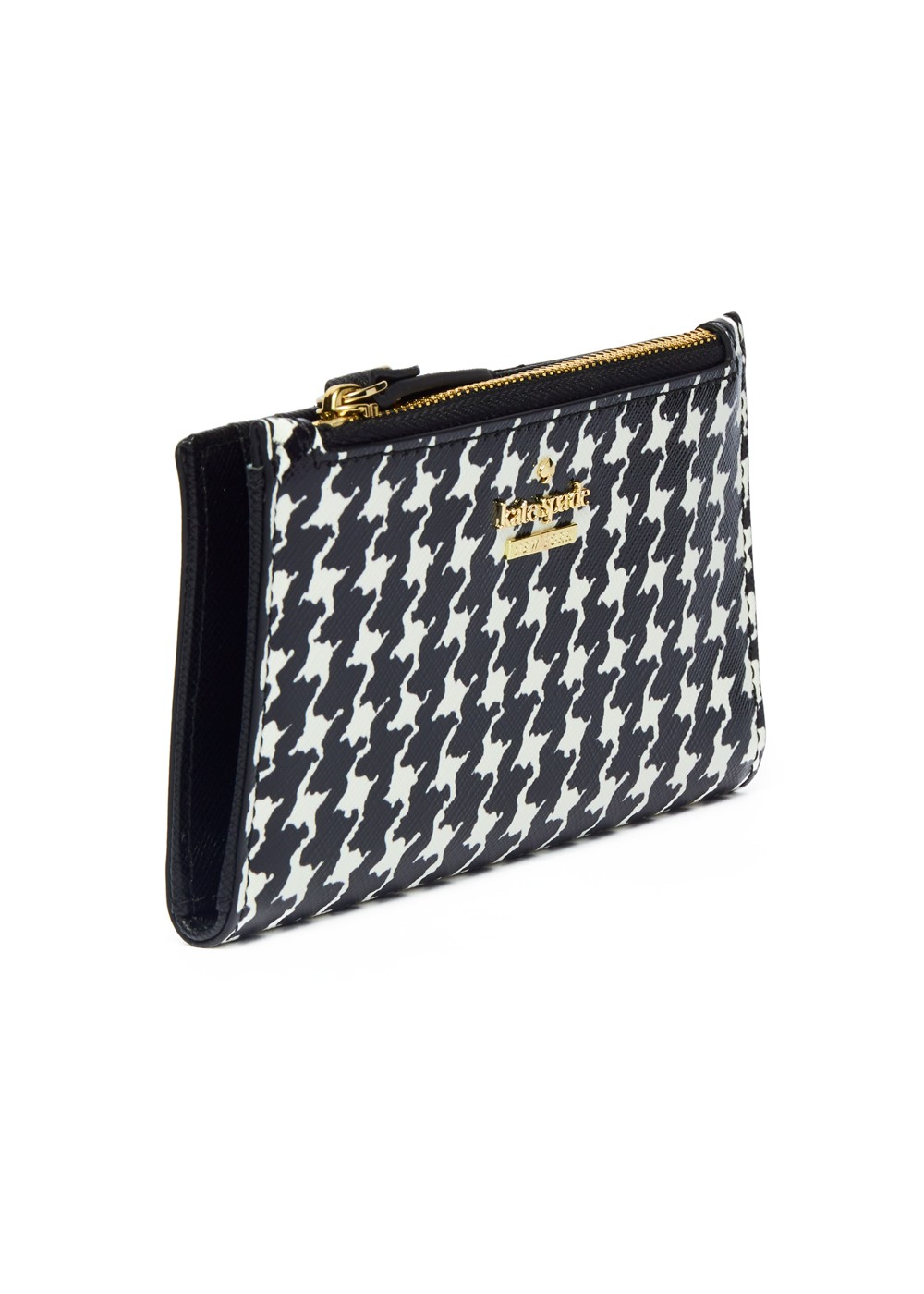 【最大51%OFF】CAMERON STREET HOUNDSTOOTH MIKEY|BLACK/CREAM|レディース財布|kate spade new york - wallet and more